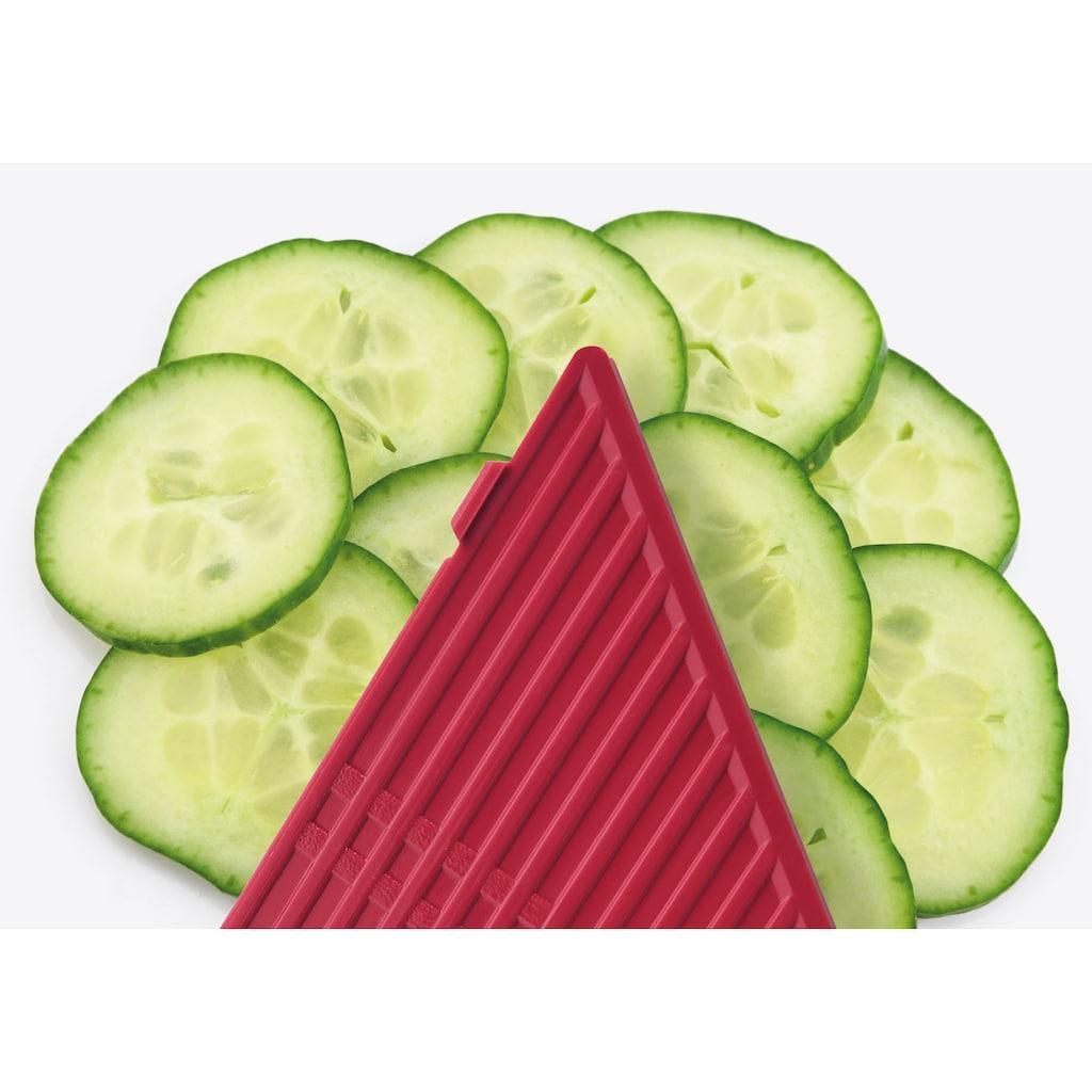 """GSD HAUSHALTSGERÄTE Gemüsehobel »Universal-Gemüsehobel """"3-in-1""""«, 3 verschiedene Scheibenstärken"""