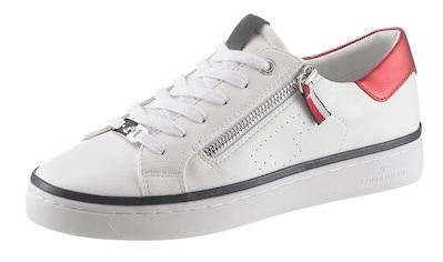 TOM TAILOR Sneaker, mit trendigem Metallicapplikationen kaufen