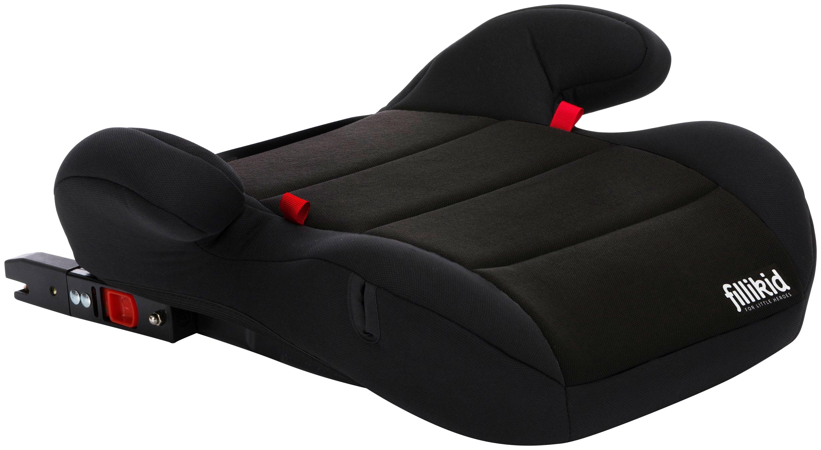Fillikid Kindersitzerhöhung, Klasse III (22-36 kg), ab 6 Jahre, kg) schwarz Kinder Kindersitzerhöhung Autokindersitze Autositze Zubehör