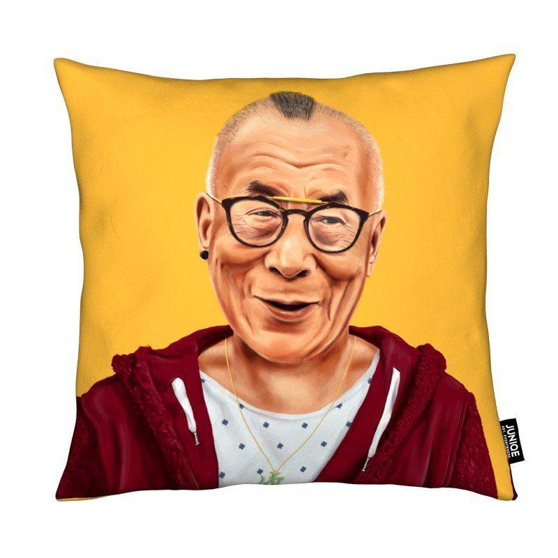 Dekokissen Dalai Lama Juniqe