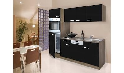 Küchenzeile »York«, mit E - Geräten, Breite 205 cm kaufen