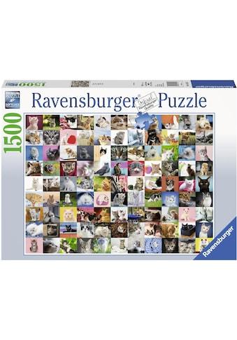 Ravensburger Puzzle »99 Katzen«, Made in Germany, FSC® - schützt Wald - weltweit kaufen