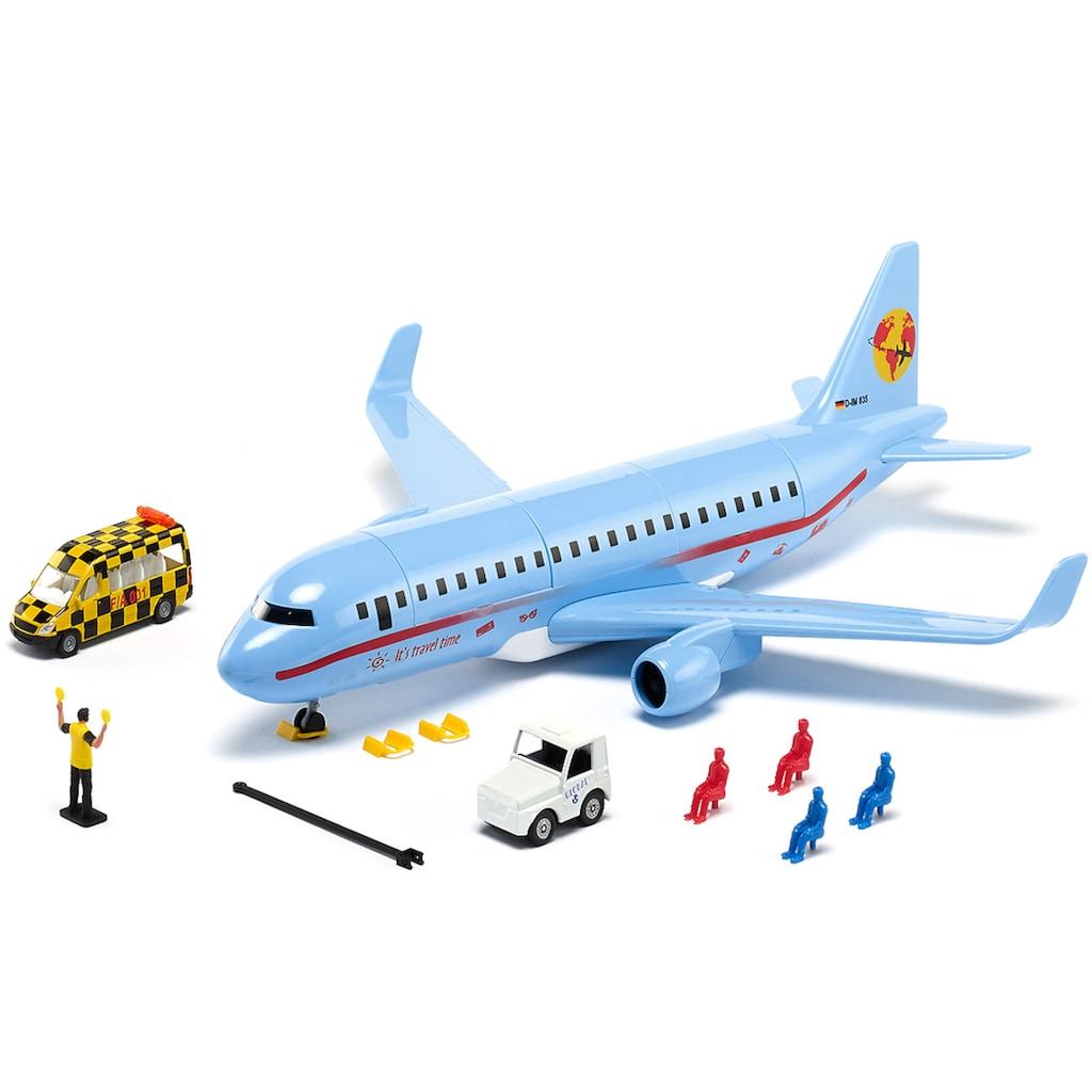 Siku Spielzeug-Flugzeug »SIKU World, Verkehrsflugzeug«, mit Licht
