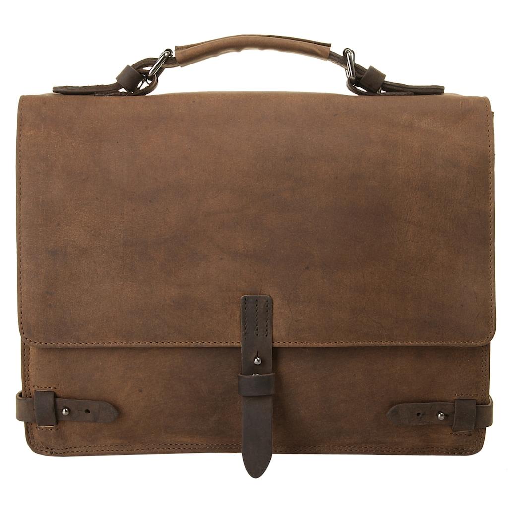 Harold's Messenger Bag »LEADO«, vegetabil gegerbt