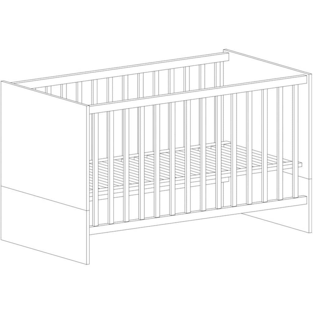 arthur berndt Babymöbel-Set »Justus«, (Spar-Set, 2 St.), Made in Germany