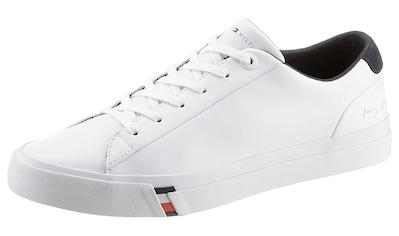 TOMMY HILFIGER Sneaker »CORPORATE LEATHER SNEAKER« kaufen