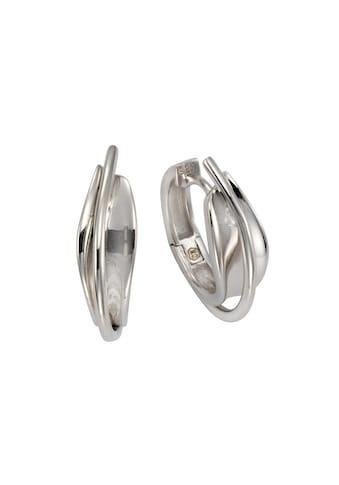 Vivance Klappcreolen »925/ -  Sterling Silber rhodiniert 21mm« kaufen
