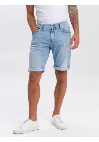 Cross Jeans® Shorts »Leom«, Angenehme Stretch-Denim-Qualität kaufen