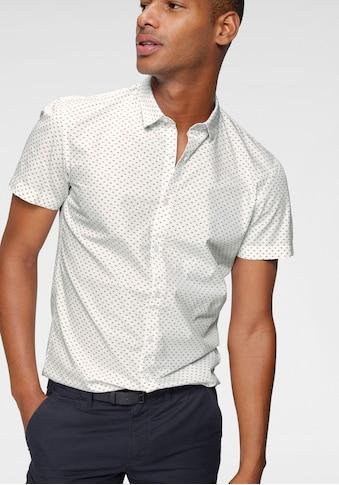 TOM TAILOR Denim Kurzarmhemd, mit modischem Allover-Print kaufen