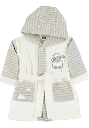 Sterntaler® Babybademantel »Stanley«, mit Schaf Stanley kaufen