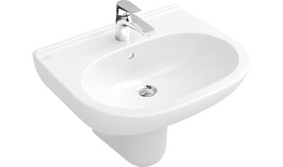 VILLEROY & BOCH Waschbecken »O.novo«, Weiß Alpin, mit Überlauf kaufen