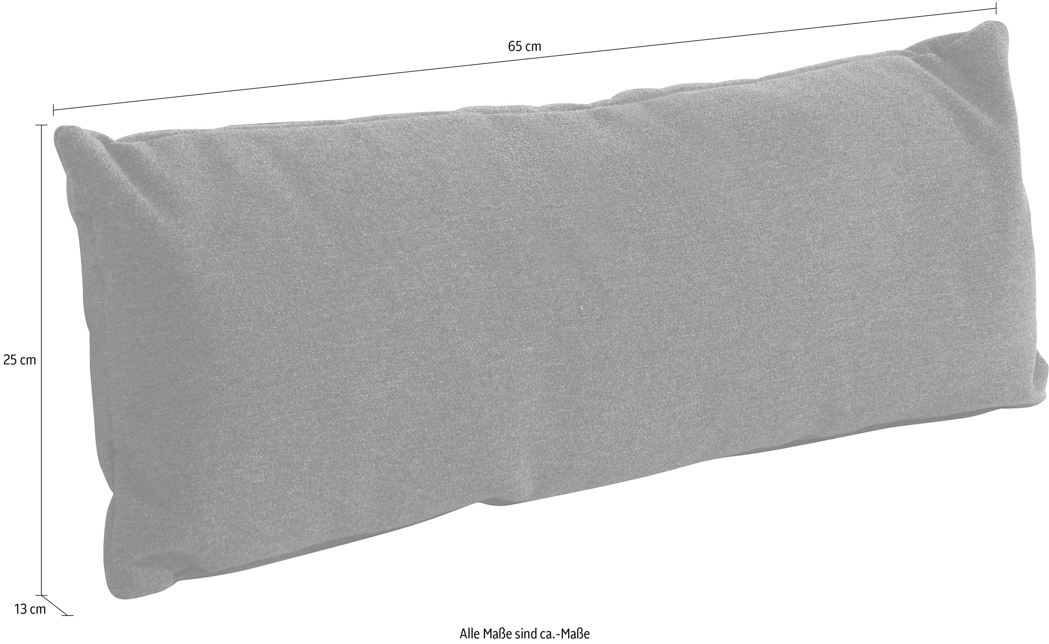 sit&more Polsterauflage (Set) weiß Dekokissen uni Kissen Polsterauflagen