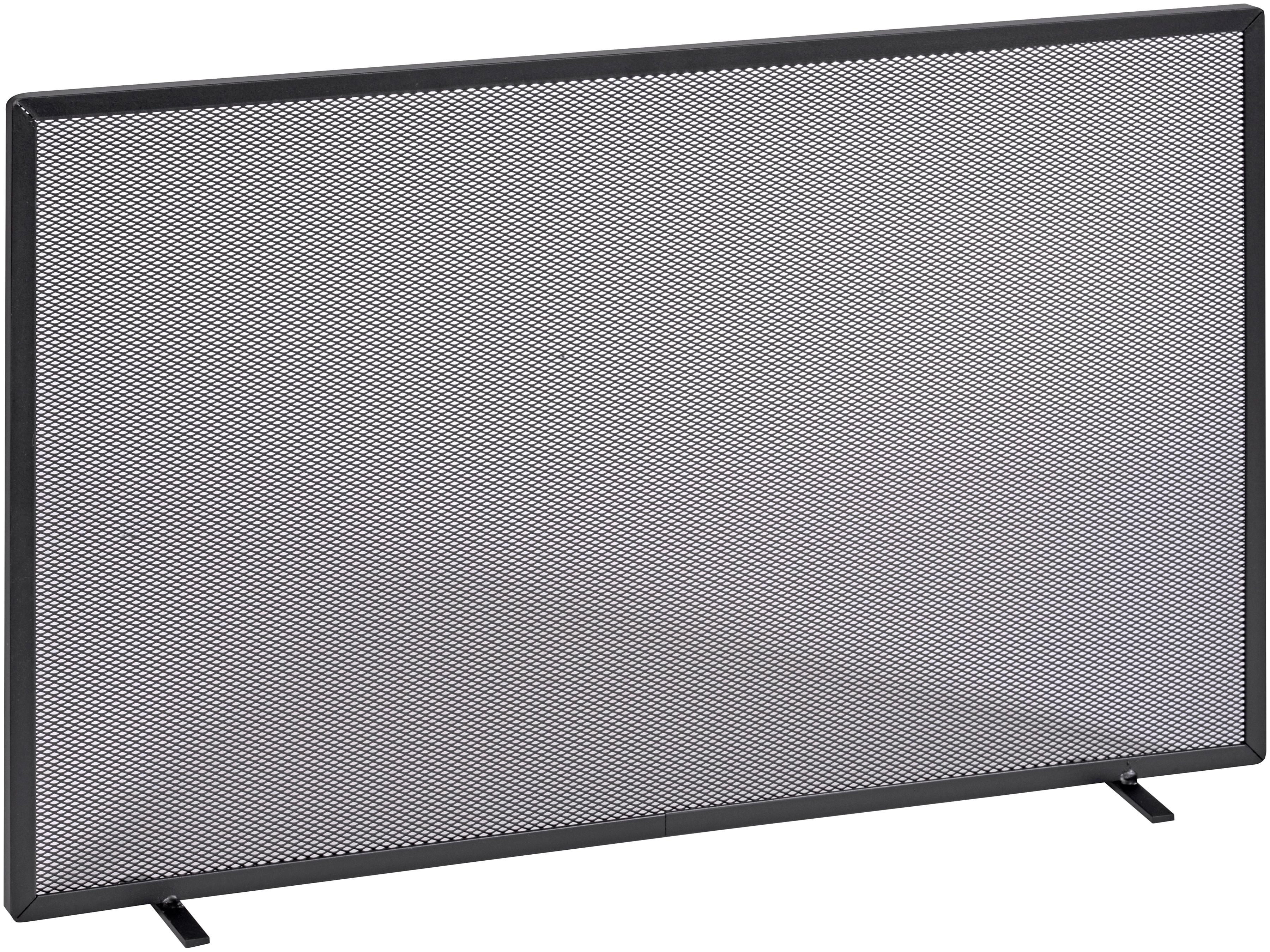 Firefix Funkenschutzgitter, mit Gittergeflecht, 80 x 52 cm (BxH) schwarz Funkenschutzgitter Kamin Öfenzubehör Heizen Klima