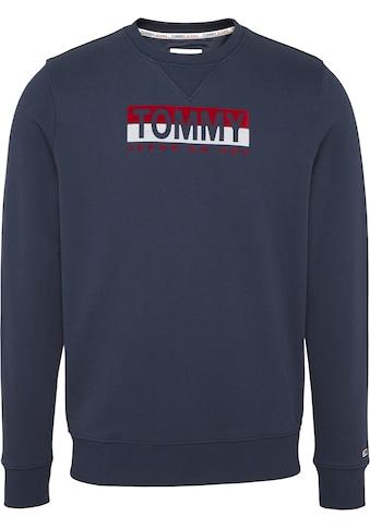 TOMMY JEANS Sweatshirt »TJM ESSENTIAL SPLIT BOX CREW« kaufen