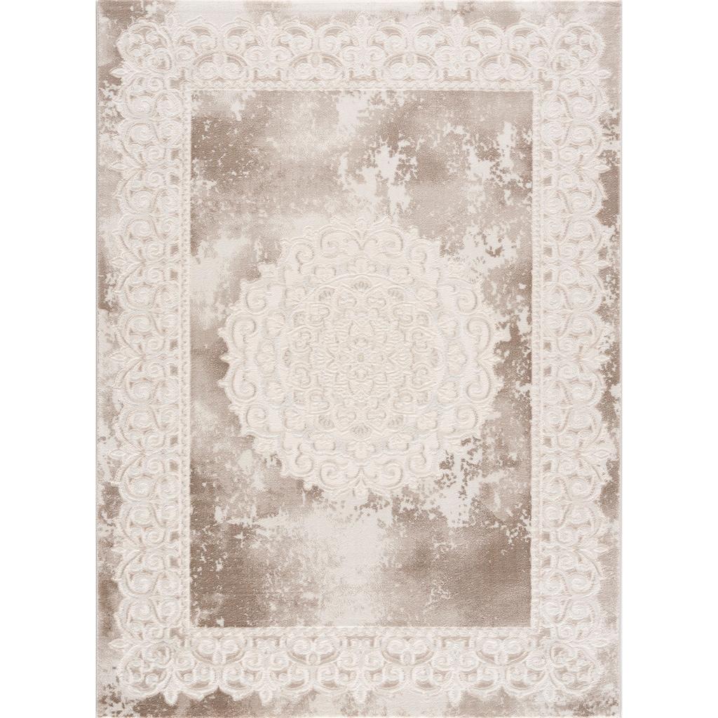 Sanat Teppich »Harmony 3205«, rechteckig, 12 mm Höhe, Vintage Design, Orient-Optik, Wohnzimmer