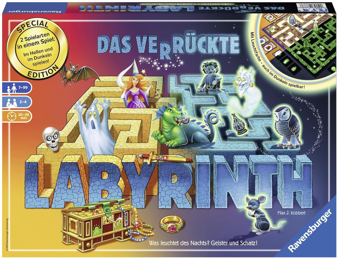Ravensburger Brettspiel, »Das verrückte Labyrin...