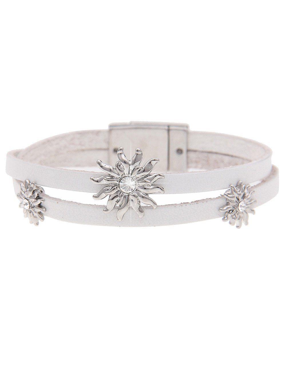 leslii Armband, mit Magnetverschluss silberfarben Damen Armband Armbänder Schmuck 4250980350695