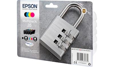 Epson »EPSON 35 Ink Multipack, CMYK (C13T35864010)« Tintenpatrone kaufen