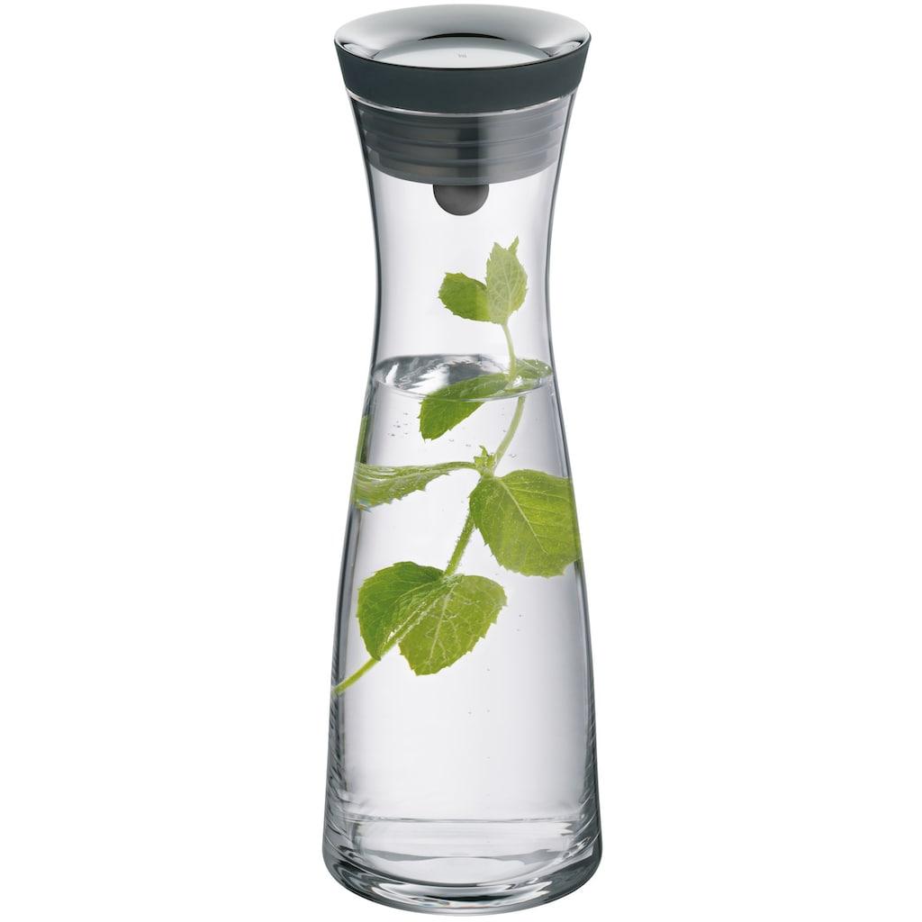 WMF Wasserkaraffe »Basic«, (1 tlg.), mit Silikonrand, 1 Liter