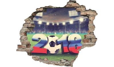 queence Wandtattoo »Fußball WM 2018« kaufen