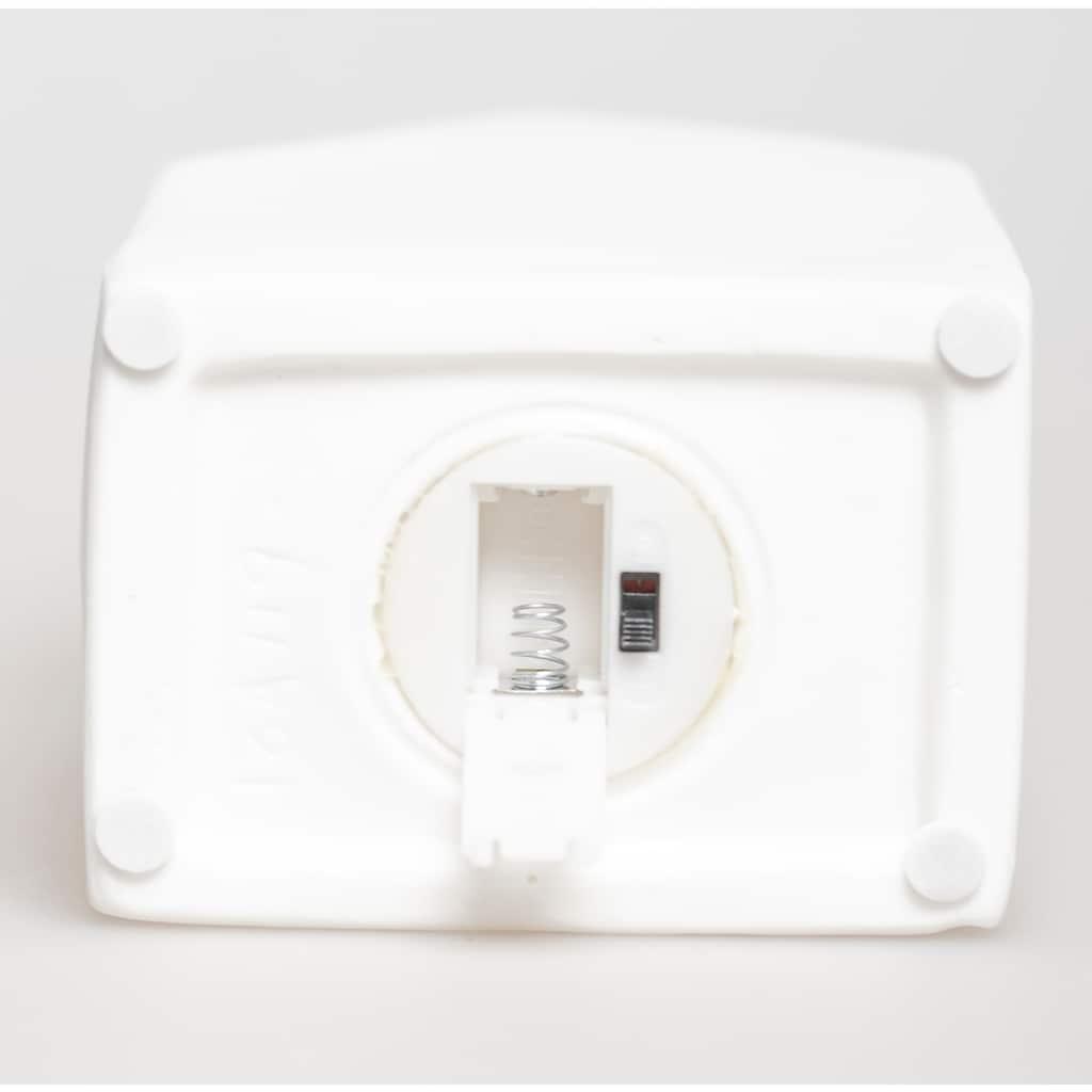 VALENTINO Wohnideen LED Dekoobjekt »Lichthaus Motiva«, Warmweiß, aus Porzellan, mit Rentiermotiv