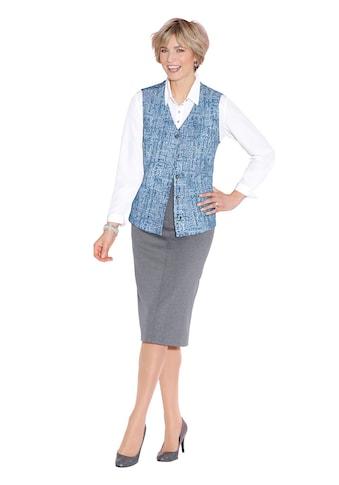 Classic Shirtweste im kombistarken Jacquard - Dessin kaufen