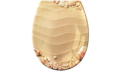 Kleine Wolke WC-Sitz »Sandstrand« kaufen