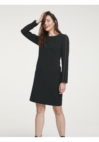 Kleid mit kontrastfarbigen Paspeln kaufen