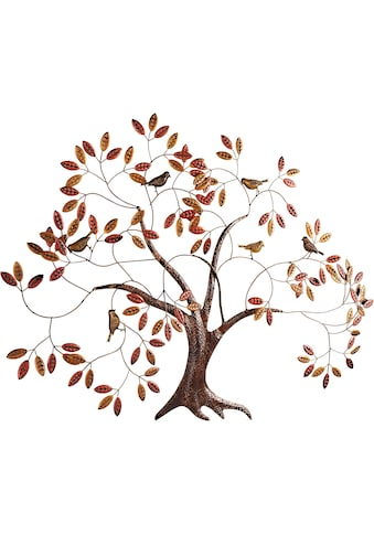 Home affaire Wanddekoobjekt »Baum«, Wanddeko, Wanddekoration, aus Metall kaufen