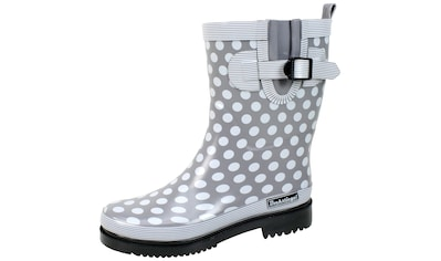 Stiefel »Damen Regenstiefel Dorin - K grau/multi«, Damen Regenstiefel Dorin - K grau/multi kaufen