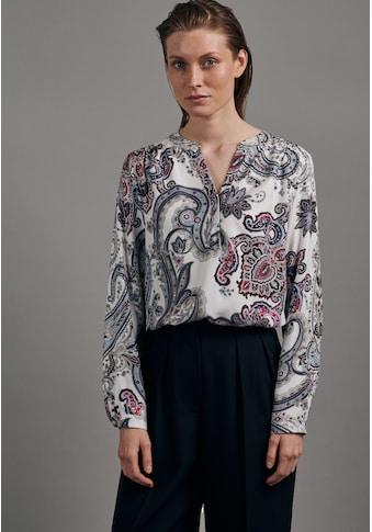 seidensticker Klassische Bluse »Schwarze Rose«, Tunika Paisley kaufen