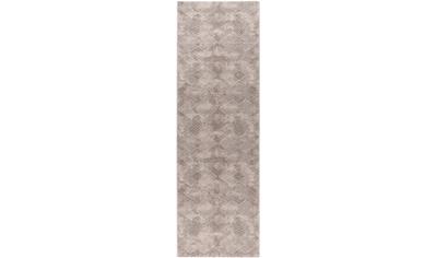 Sehrazat Läufer »Amatis 6620«, rechteckig, 12 mm Höhe, Hoch-Tief-Struktur, Wohnzimmer kaufen