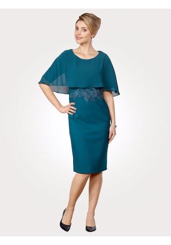 Mona Kleid mit festem Überwurf kaufen