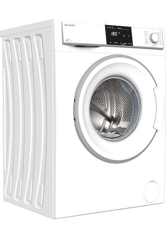 Sharp Waschmaschine »ES-HFB914AWA-DE«, ES-HFB914AWA-DE, 9 kg, 1400 U/min kaufen