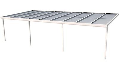 GUTTA Terrassendach »Premium«, BxT: 914x406 cm, Dach Polycarbonat bronce kaufen