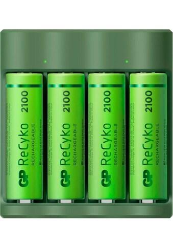 GP Batteries Batterie-Ladegerät »USB-Modell GP B421 4 x ReCyko AA 2100 mAh« kaufen