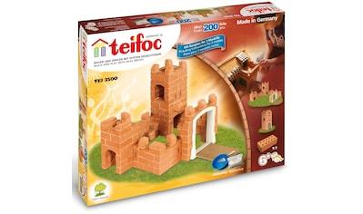 teifoc Konstruktions-Spielset »Burg«, (200 St.), Made in Germany kaufen