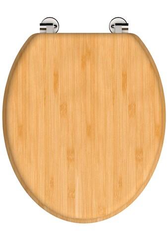 Schütte WC-Sitz »NATURAL BAMBOO«, aus Bambus Vollholz kaufen