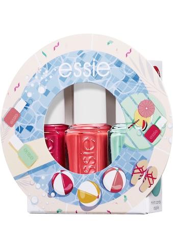 essie Nagellack-Set »Mini Trio Geschenkset Pink- und Minttöne«, (3 tlg.) kaufen