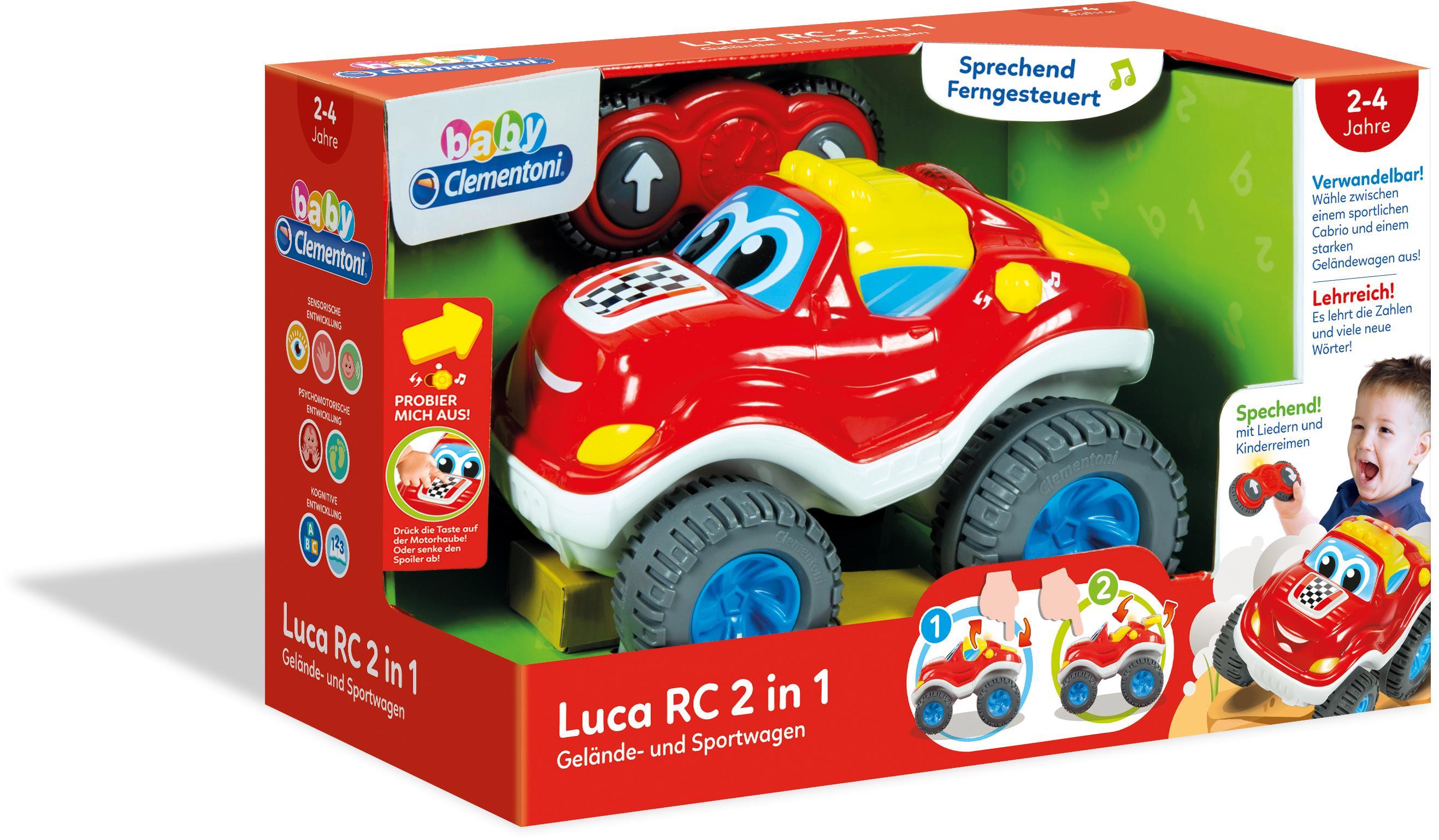 Clementoni Ferngesteuertes Auto mit Soundeffekt...