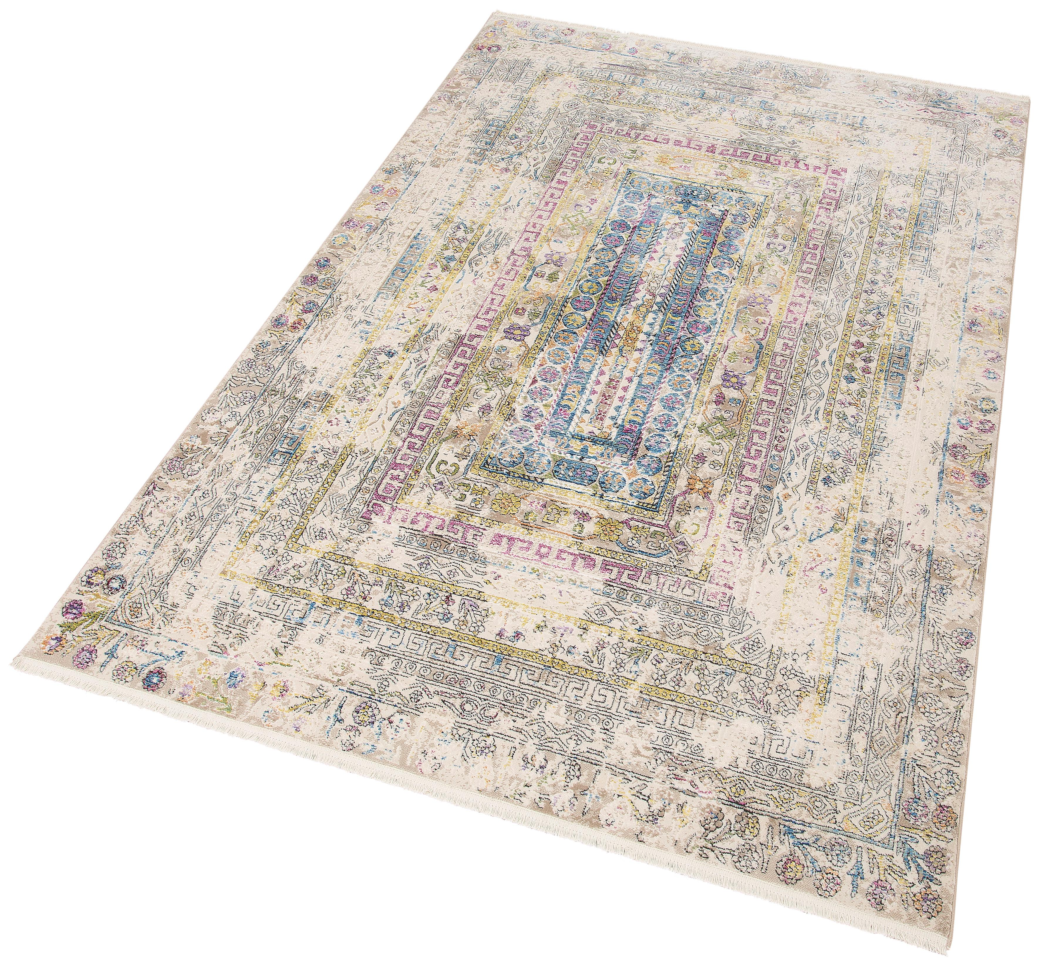 Teppich Colorful 24022 merinos rechteckig Höhe 7 mm maschinell gewebt