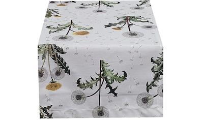 HOSSNER - HOMECOLLECTION Tischläufer »Pusteblume«, (1 St.) kaufen