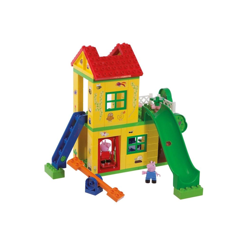 BIG Konstruktions-Spielset »BIG-Bloxx Peppa Wutz Play House«, (75 St.)
