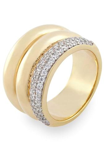 VILMAS Fingerring »True Romance Secret Kiss, 4028146492486, 2493, 2509«, mit Zirkonia kaufen