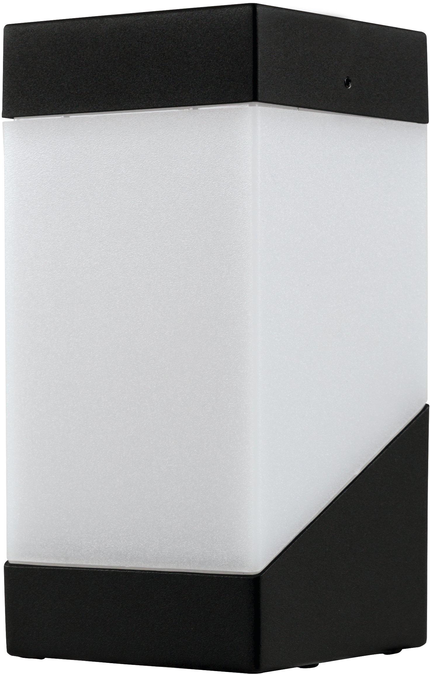 HEITRONIC Außen-Wandleuchte Madeleine, E27, 1 St., Große matte Lichtaustrittsfläche