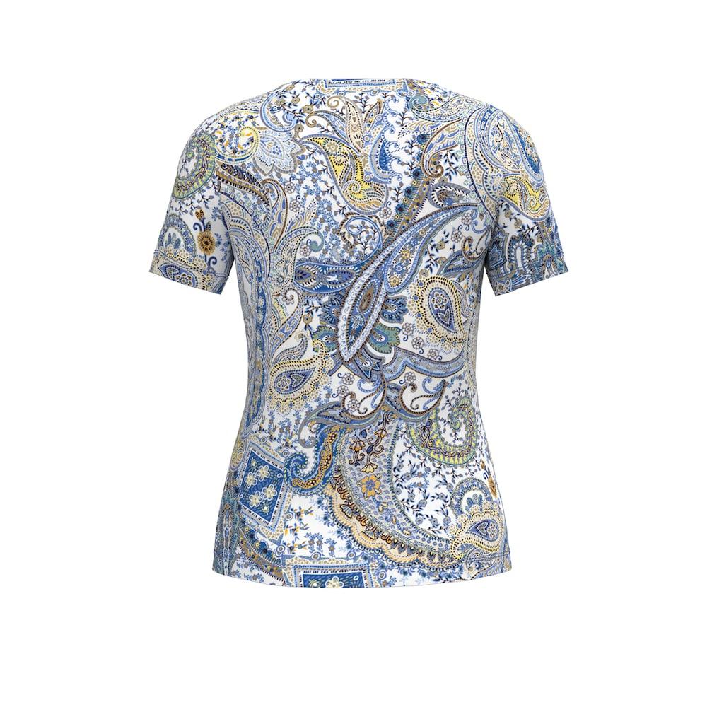 bianca Print-Shirt »MALVE«, angesagtes Paisley-Muster in sommerlichen Farben