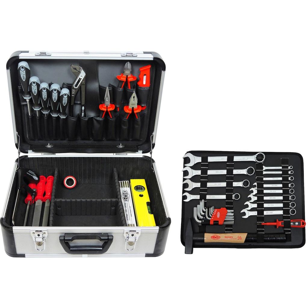 FAMEX Werkzeugset »729-24«, (107 St.), im Werkzeugkoffer