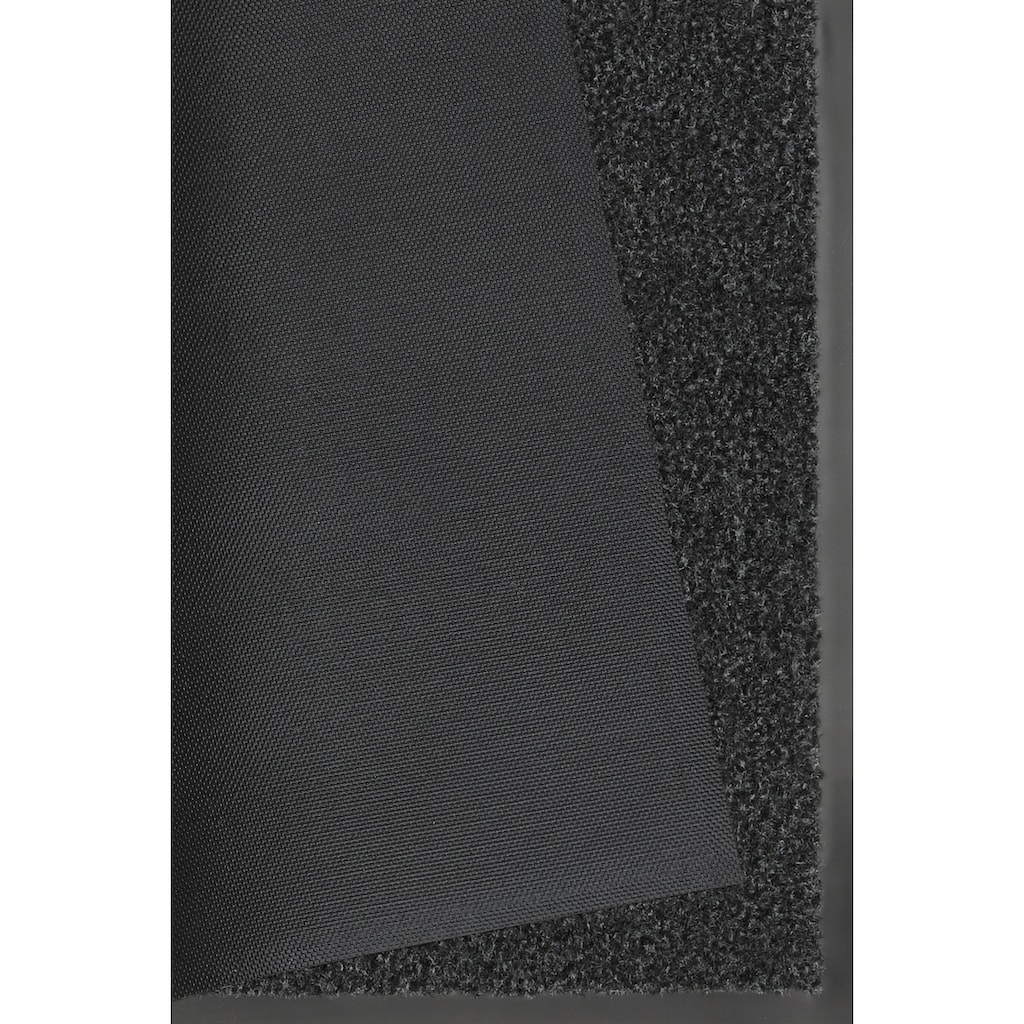 HANSE Home Fußmatte »Green&Clean«, rechteckig, 8 mm Höhe, Fussabstreifer, Fussabtreter, Schmutzfangläufer, Schmutzfangmatte, Schmutzfangteppich, Schmutzmatte, Türmatte, Türvorleger, rechteckig