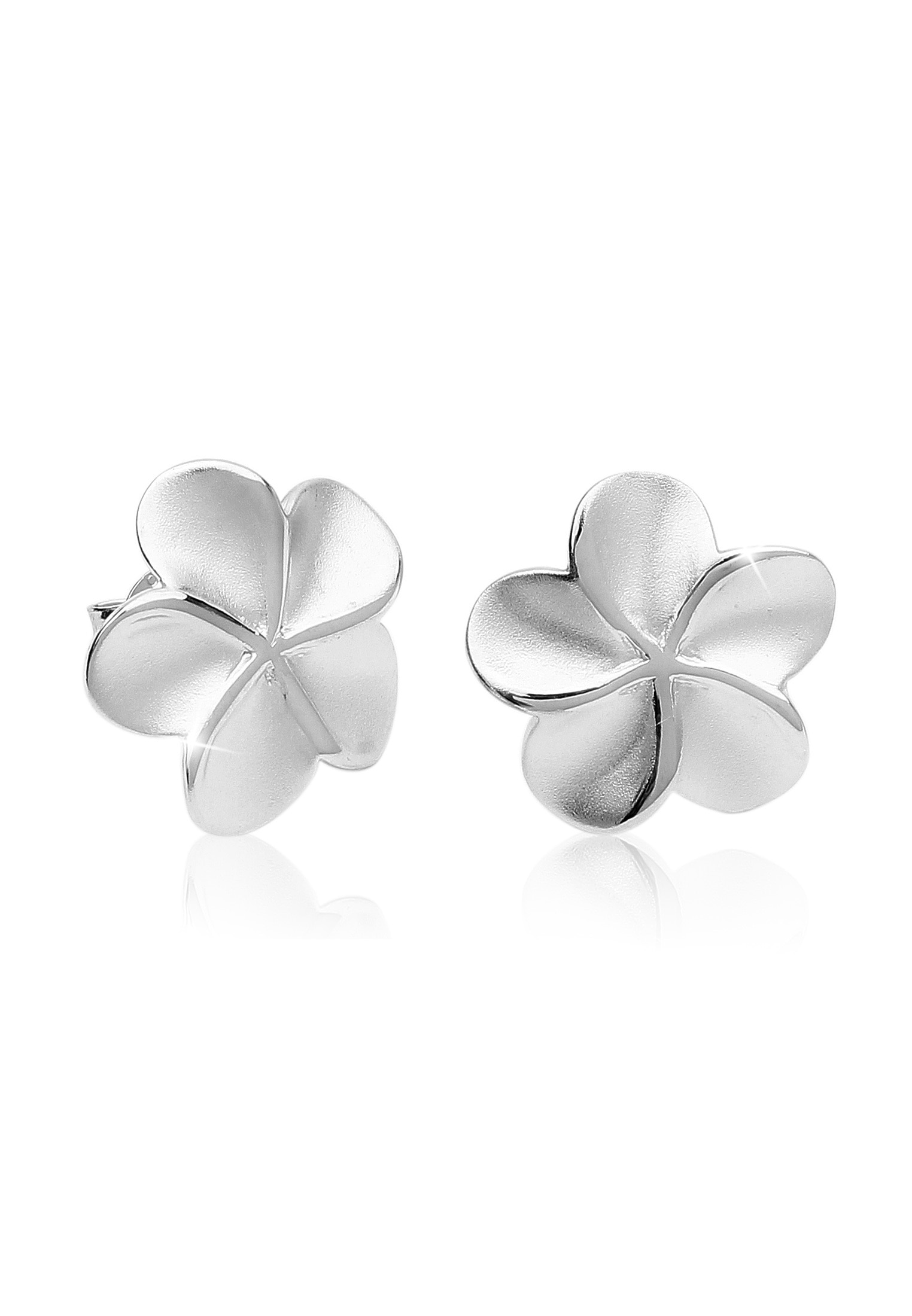 Nenalina Paar Ohrstecker Ohrstecker Blume Blüte Verspielt 925 Silber | Schmuck > Ohrschmuck & Ohrringe > Ohrstecker | Nenalina