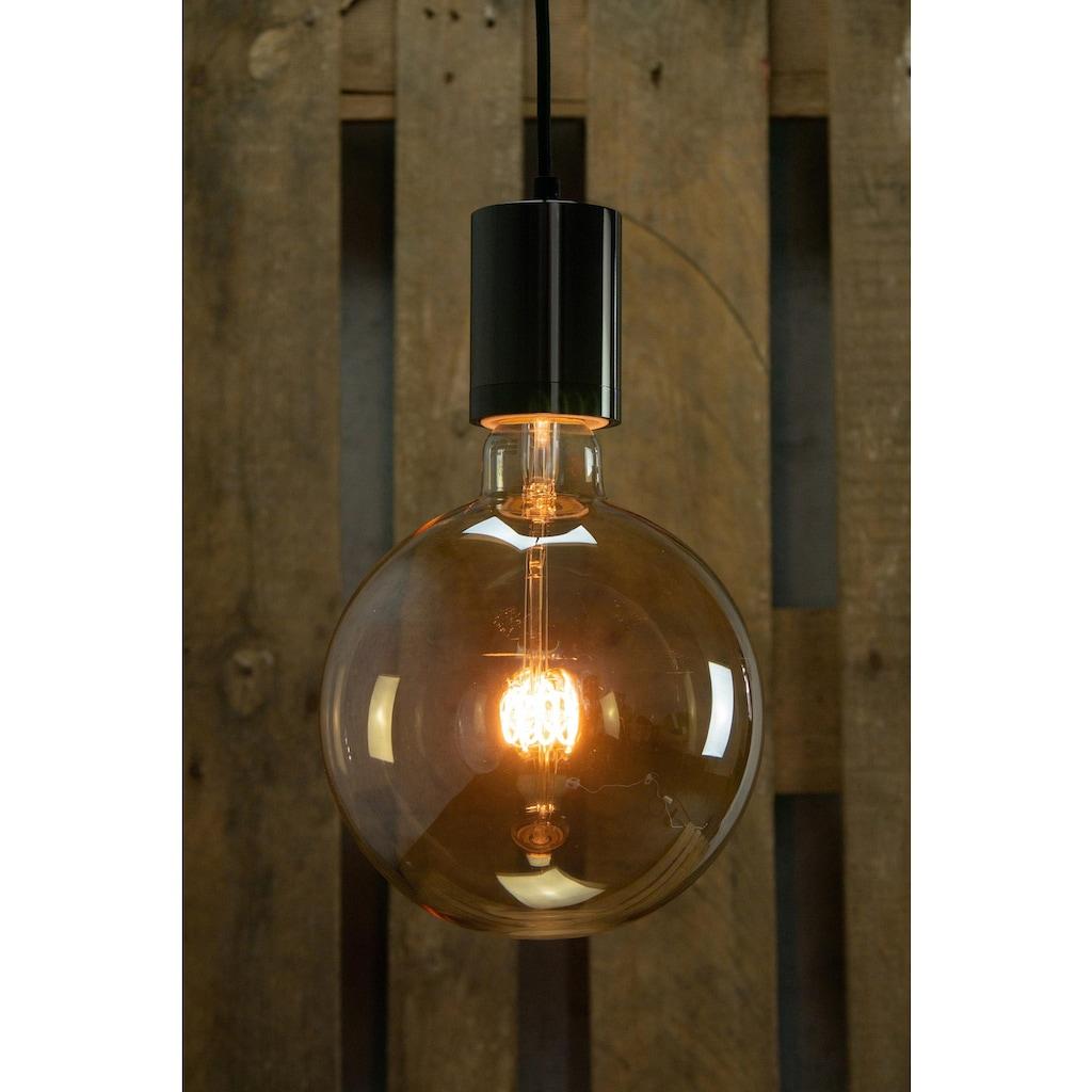 SEGULA LED-Filament »LED Grand Globe Curved, 8W, Spirale, gold, E40«, E40, Extra-Warmweiß, Große LED Globe mit E40 Fassung